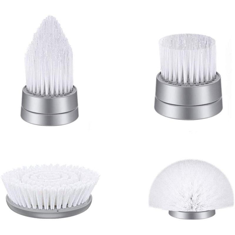 4 teste di spazzole